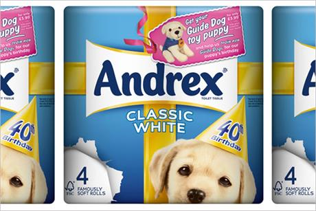 Andrex: brings back puppy mascot