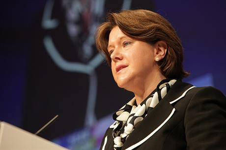 Secretary of State for Culture, Media and Sport Maria Miller
