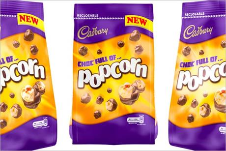 Cadbury: readies popcorn launch