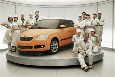 Skoda: 'Cake' ad for Fabia model