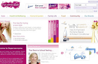 Procter & Gamble rolls out savvy mums site