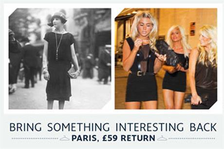 Eurostar: ads promote 59 return fare