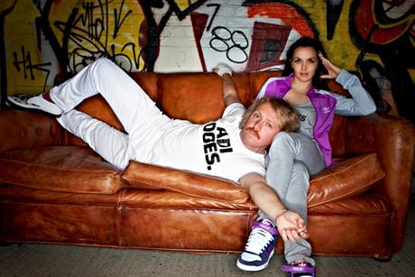 Adidas: Keith Lemon and Victoria Pendleton star in campaign