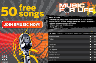 Tiscali launches music-downloads portal