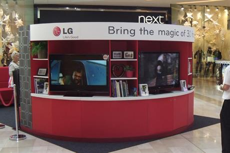 LG readies £6m push for 3D TV line
