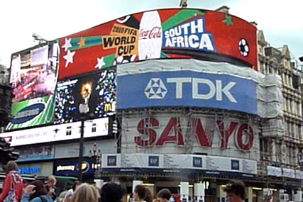 Coca-Cola: World Cup celebrations in Piccadilly
