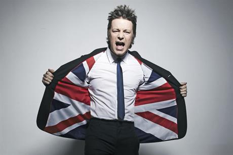 Jamie oliver lines up for the VisitBritain campaign