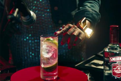 Diageo: new creative startegy for its Smirnoff vodka brand