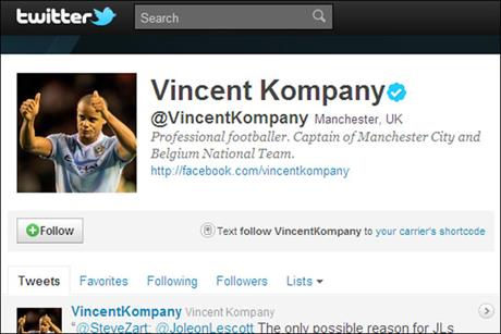 Vincent Kompany: Manchester City captain to host interview on Twitter