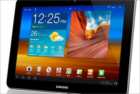 Samsung: the Galaxy Tab 10.1