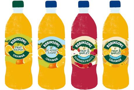 Britvic: to launch major campaigns for Robinsons range