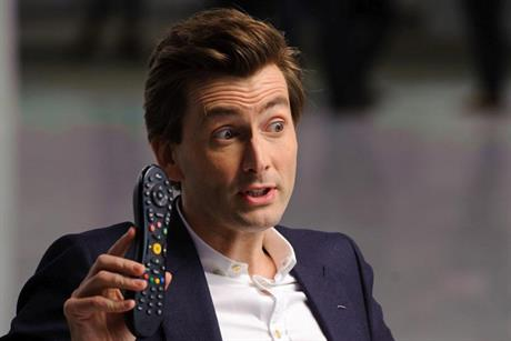 Virgin Media: pulls David Tennant ad