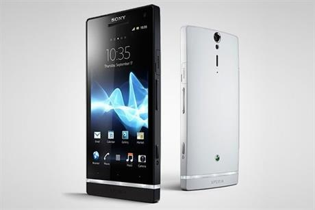 Sony Experia S: announces major ad spend for smartphone range