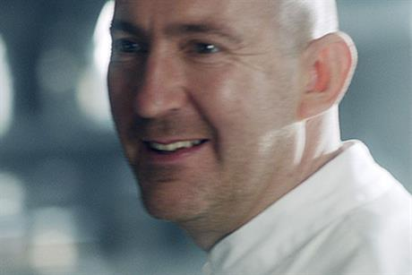 Igor Zago: chef stars in campaign promoting the Knorr Gravy Pot range