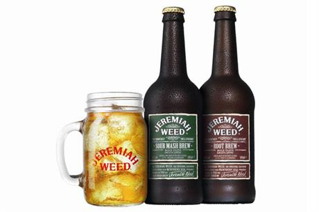 Jeremiah Weed: new beer brand extension