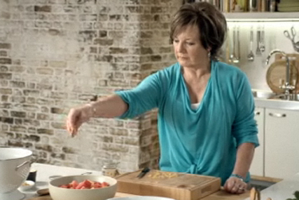 Delia Smith: stars in Waitrose ad