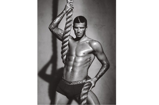 Video: David Beckham poses for latest Emporio Armani underwear campaign