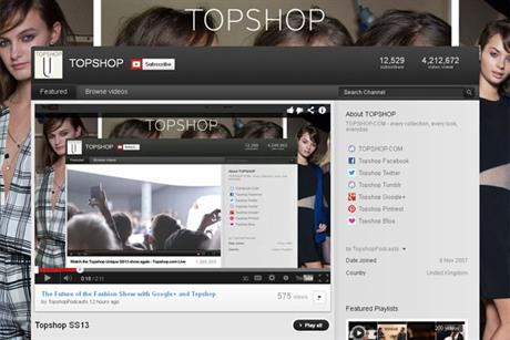 Topshop: gears up for London Fashion Week