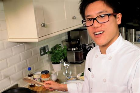 Jeremy Pang: chef's recipes feature in latest Blue Dragon campaign