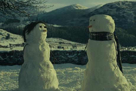 John Lewis: Christmas ad campaign features a snowman's quest for romance