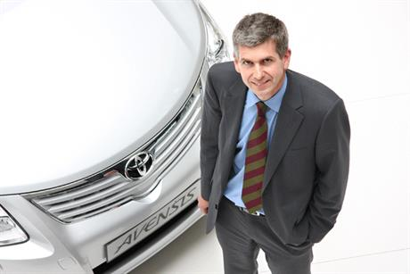 John Thomson, marketing director of Toyota GB