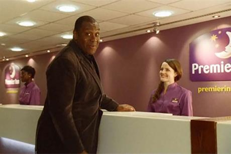 Still from Premier Inn ad