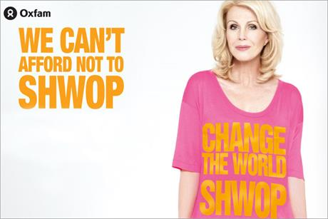 Joanna Lumley: fronts drive to get M&S customers to recycle unwanted clothing.