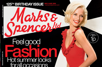 Marks & Spencer customer magazine