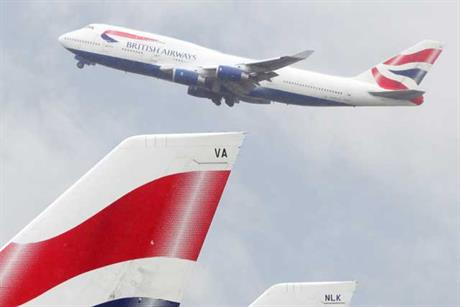 British Airways: pushing heritage in ads