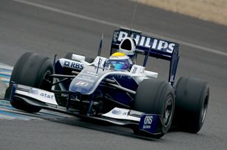 Philips picks shop for F1 tie