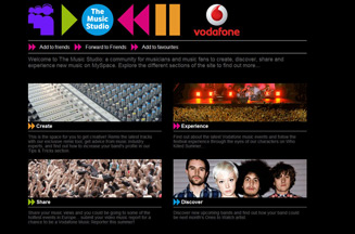 Vodafone launches branded MySpace music site