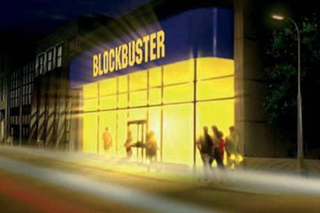 Blockbuster: kicks off aggressive customer recruitment drive