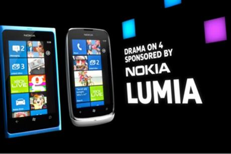 Nolia Lumia: sponsoring Channel 4's Drama on 4 series