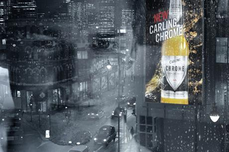 Carling: VCCP Blue created a campaign for the brand's premium Chrome variant