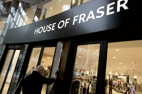 House of Fraser appoints Fallon