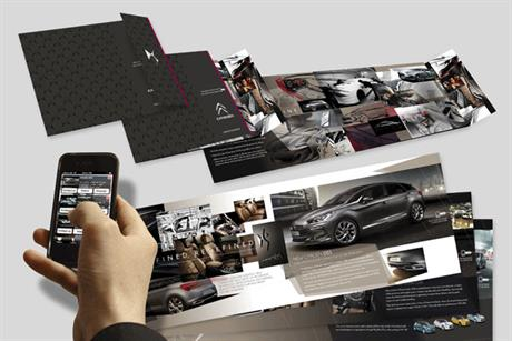 Citron: Acuity designs interactive direct mailer for DS5 campaign
