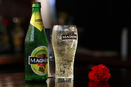 Magners: appoints Elvis to below-the-line account