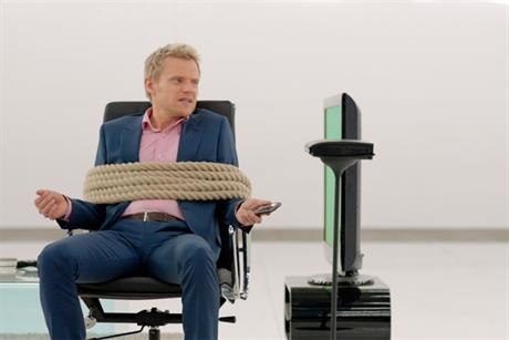 Virgin Media: Marc Warren starred in a campaign to promote TiVo