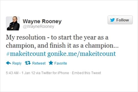 Nike: Wayne Rooney and Jack Wilshere tweets fall foul of the ASA