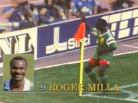 Coca-Cola: Roger Milla World Cup activity