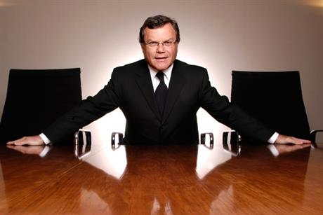 WPP boss Sir Martin Sorrrel
