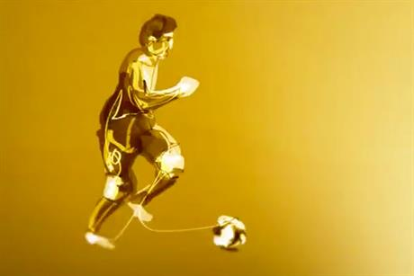 Adidas: celebrates Messi's World Player of the Year award