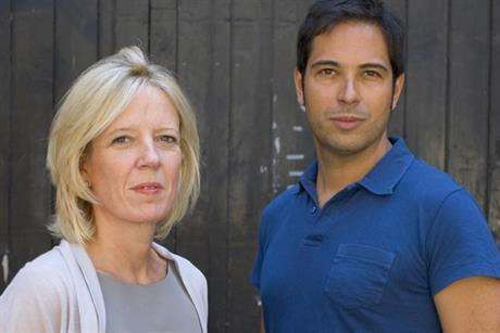 Chief executives: Lisa Thomas of M&C Saatchi UK and Christian Gladwell of Human Digital