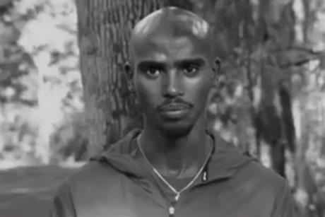 Mo Farah: from makeitcount ad for Nike by Wieden & Kennedy and AKQA