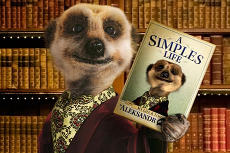Alexandr: Comparethemarket.com's meerkat star of TV and radio