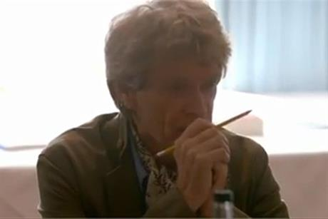 Sir John Hegarty judging potential Black Pencils