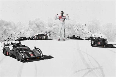 Audi: Le Mans TV ad will break during the Champions League final coverage
