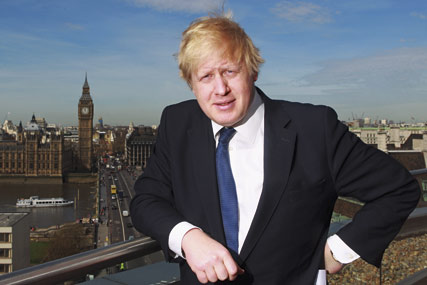 Mayor Boris Johnson is pushing London to tourists