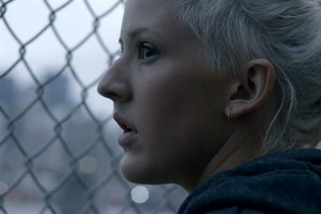 Nike: 'music runs Ellie' by AKQA