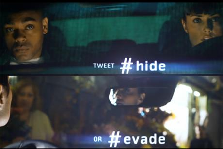 Mercedes: Twitter driving interactive TV ads